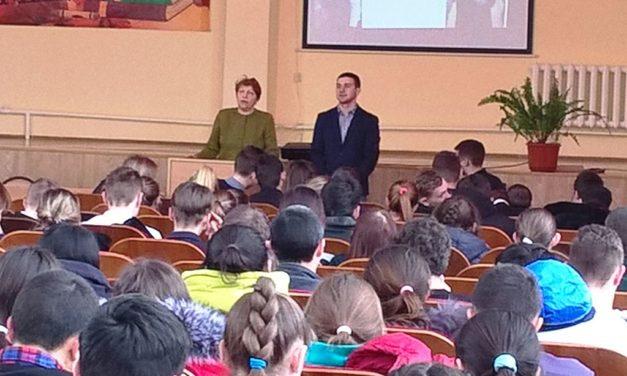 Состоялась встреча старшеклассников с директором ЦМИ «Мир»